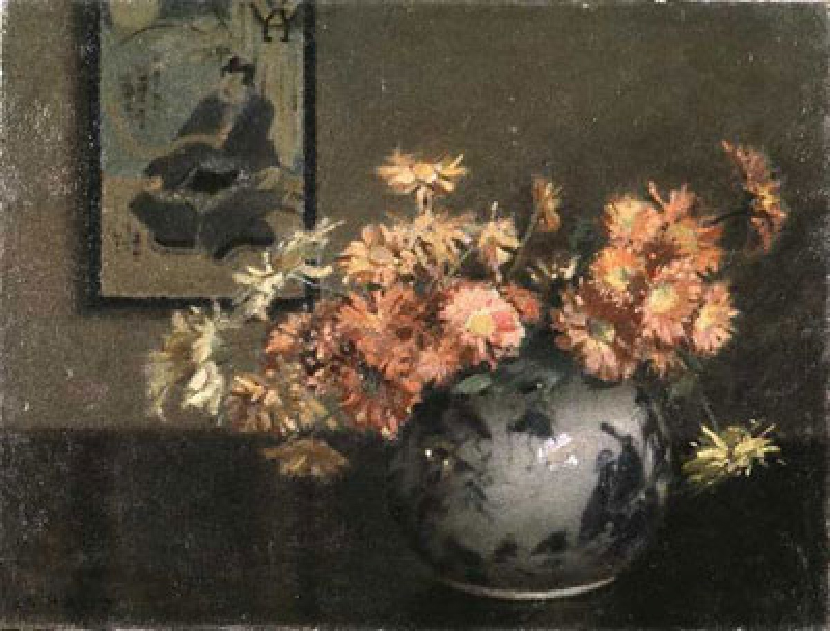 Mary Heister Reid Chrysanthemums, A Japanese Arrangement