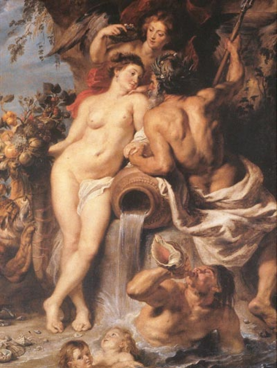 Peter Paul Rubens,The Union of Earth and Water, c.1618