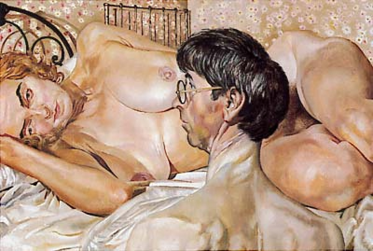 Stanley Spencer Sel-Portrait with Patricia Preece