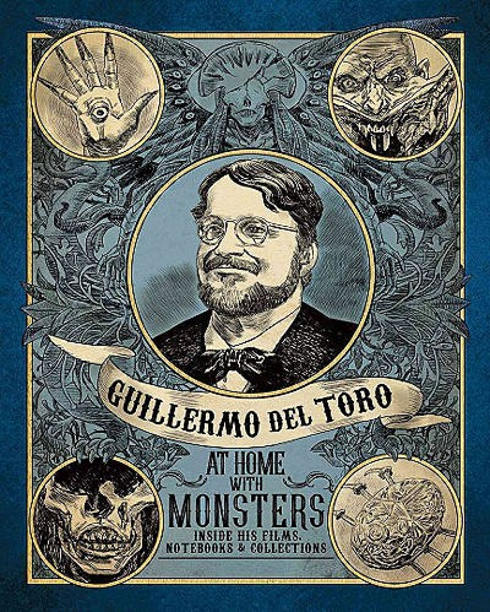 guillermo del toro exhibition catalogue cover