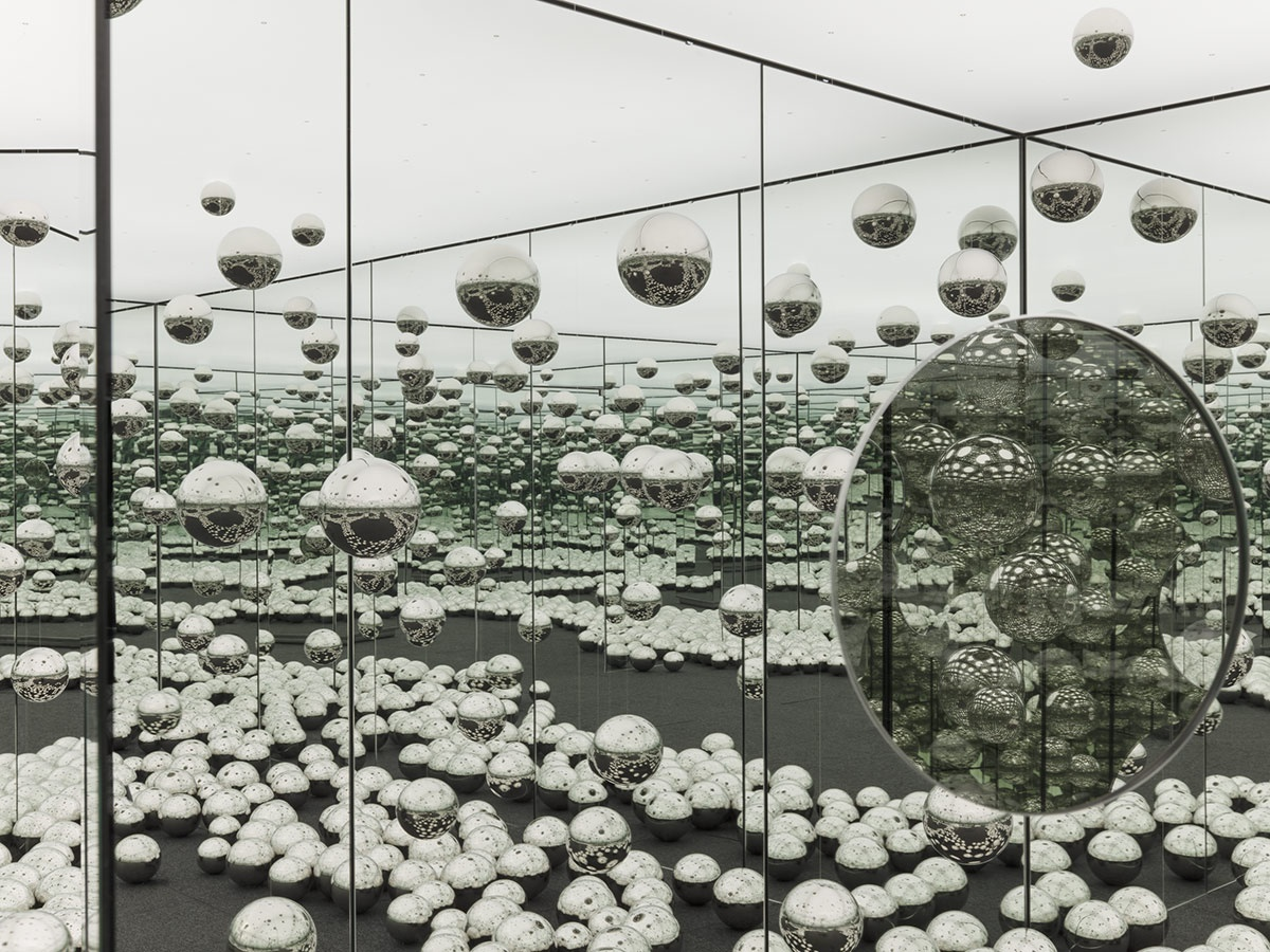 Yayoi Kusama's INFINITY MIRRORED ROOM - LET'S SURVIVE FOREVER | Art