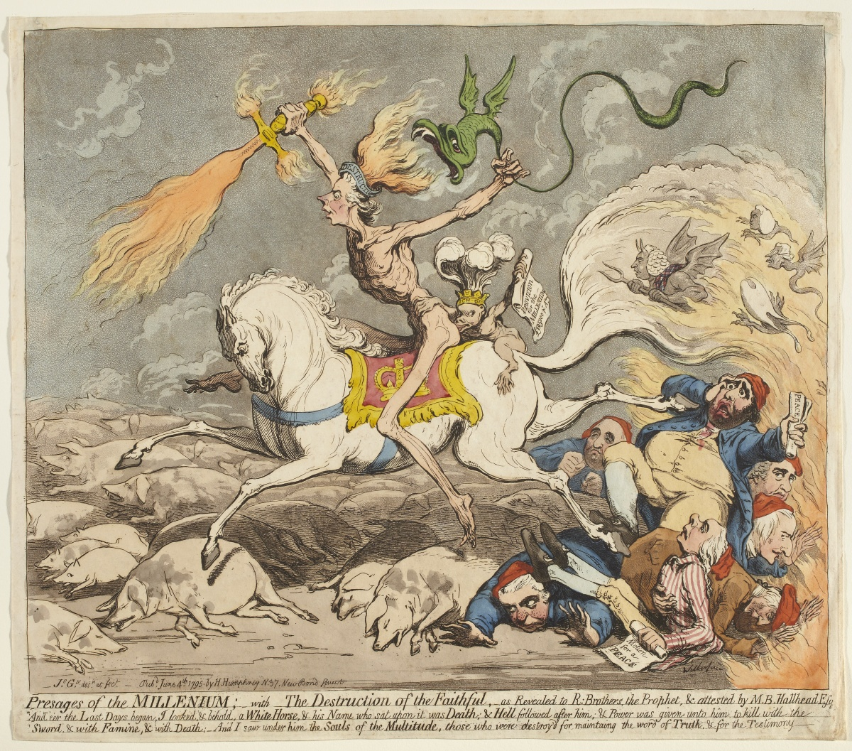 James Gillray, Presages of the Millenium
