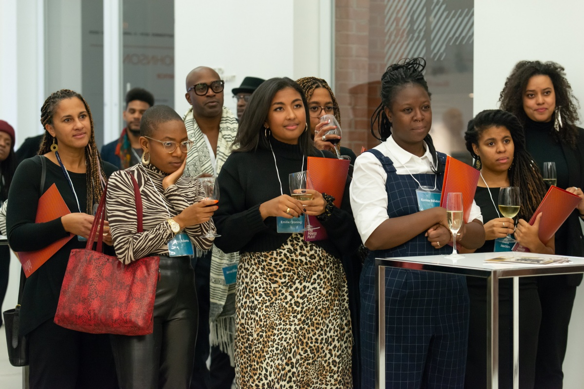 Attendees at the Black Curators Forum