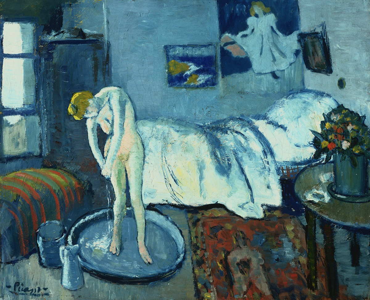 Pablo Picasso, The Blue Room