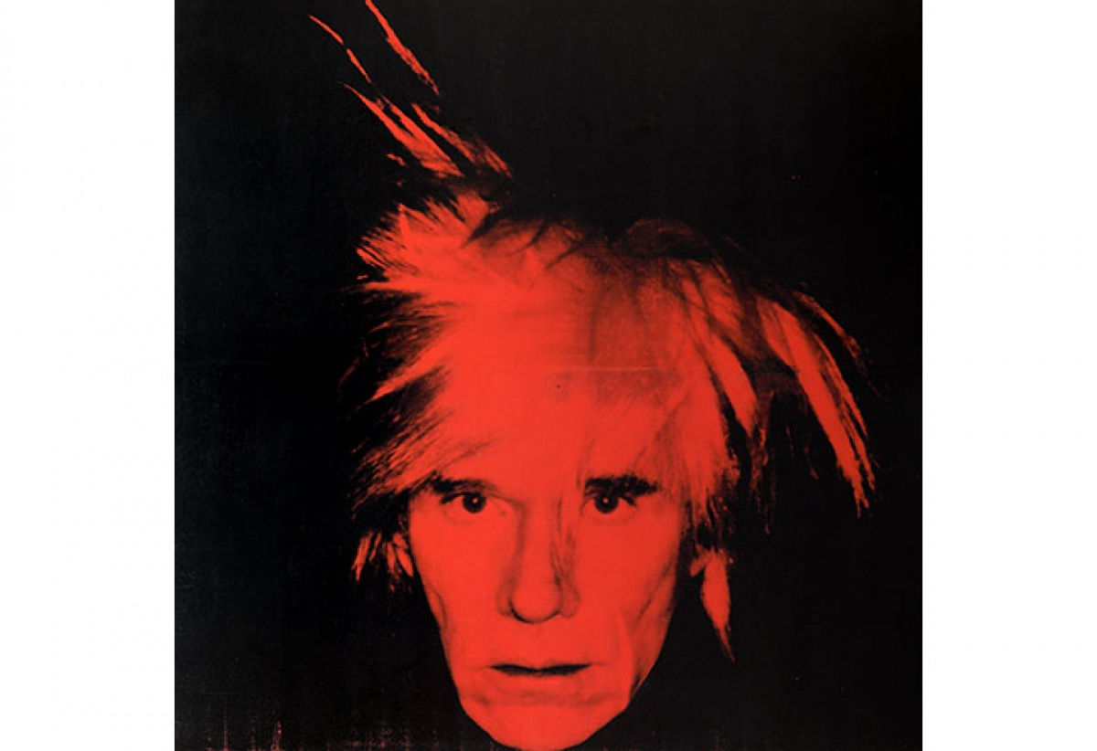 Andy Warhol, Self Portrait 1986