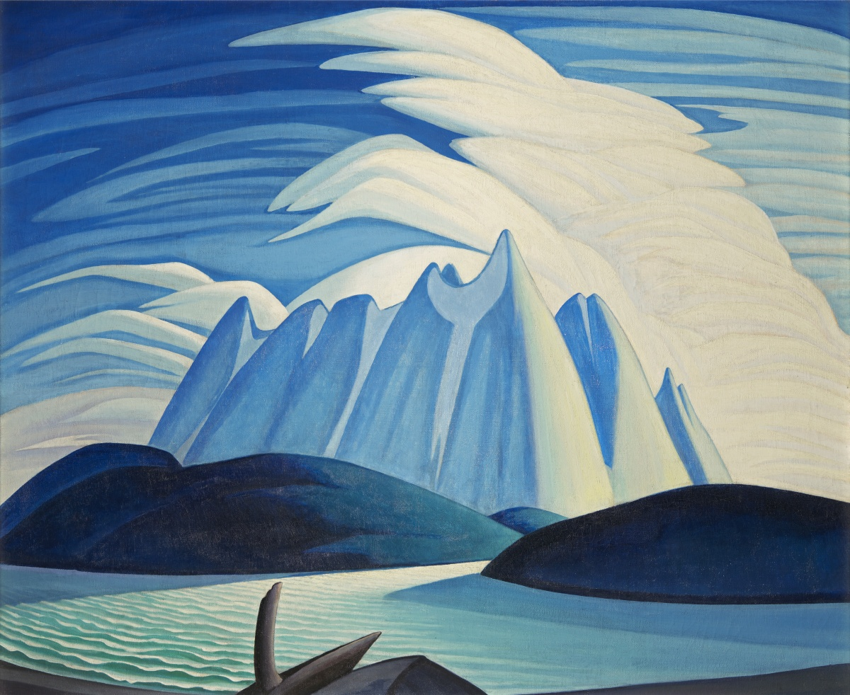Lawren S. Harris, Lake and Mountains