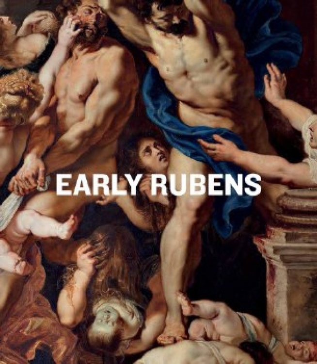 Book cover for Early Rubens exhibition catalogue