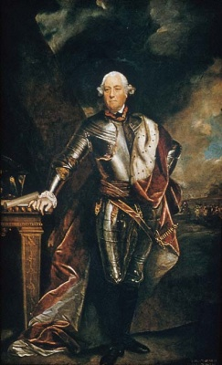 George Townshend, 4th Viscount Townshend, painting by Joshua Reynolds