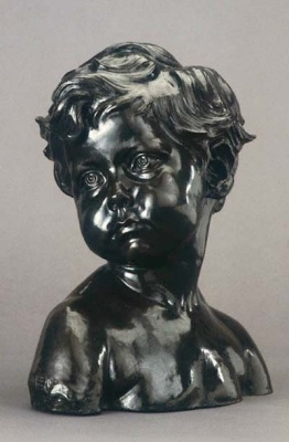 Head of a Little Boy by Jules Dalou