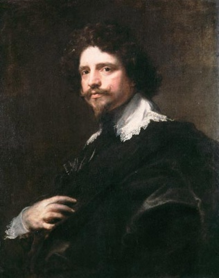 Michel Le Blon painting by Anthony van Dyck