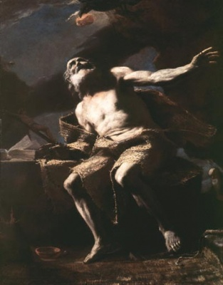 St. Paul the Hermit, painting by Mattia Preti