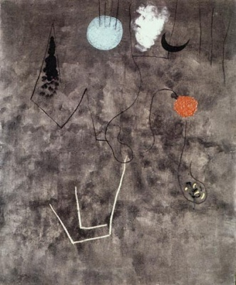 Untitled, painting by Joan Miro