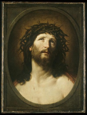 Christ Crowned with Thorns, painting by Gudio Reni