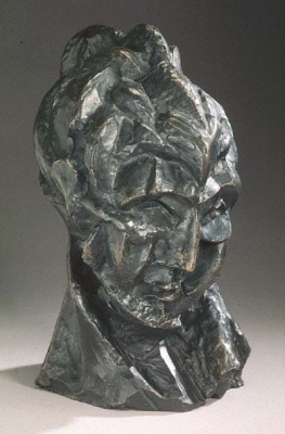 Head of a Woman (Fernande), sculpture by Pablo Picasso