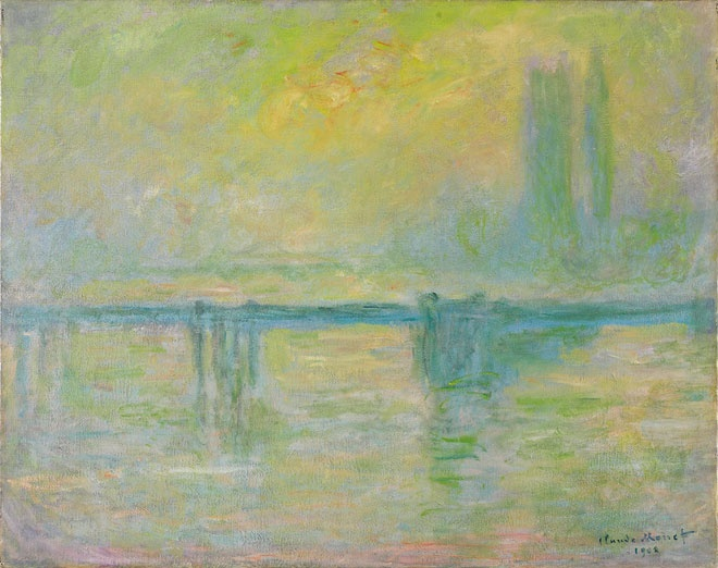 Claude Monet, Charing Cross Bridge, brouillard, 1902