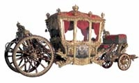 Royal Gobelin Factory, Paris, designed by Milon. The Romanov Coronation Coach, first quarter 18th century