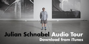 Julian Schnabel Audio Tour button