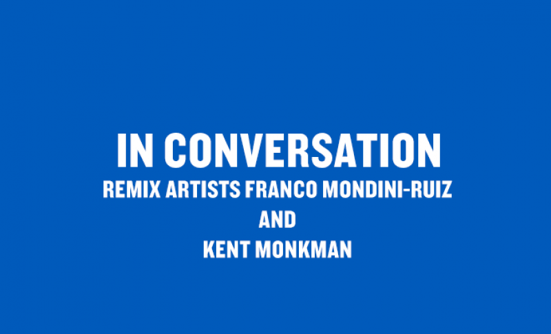 Remix artists Franco Mondini-Ruiz and Kent Monkman