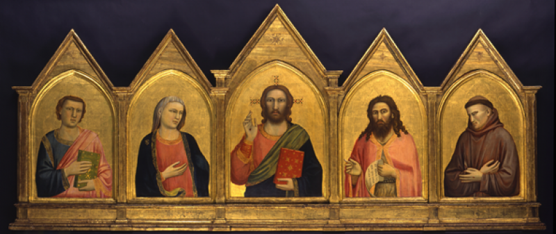 Giotto di Bondone, Italian, about 1266 – 1337, The Peruzzi Altarpiece