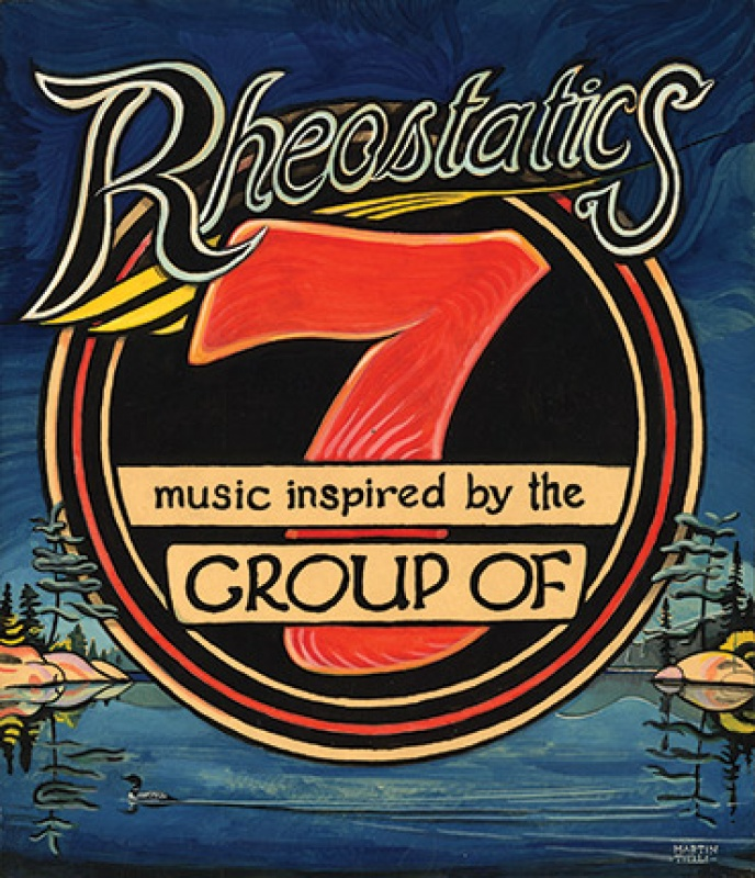 Album cover for Rheostatics - Music Inspired by the Group of Seven