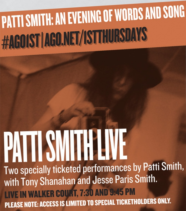 1st Thurs Patti Smith for event page  @ 660