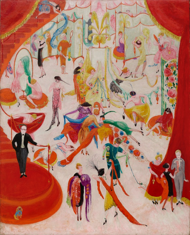 Florine Stettheimer, Spring Sale at Bendel's