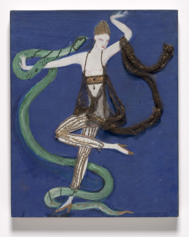 costume design (euridice and the snake)