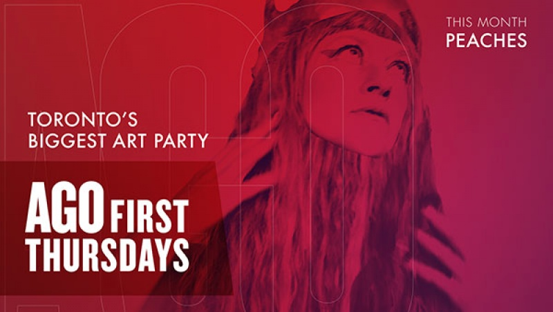 Artist Peaches headlines October's First Thursday