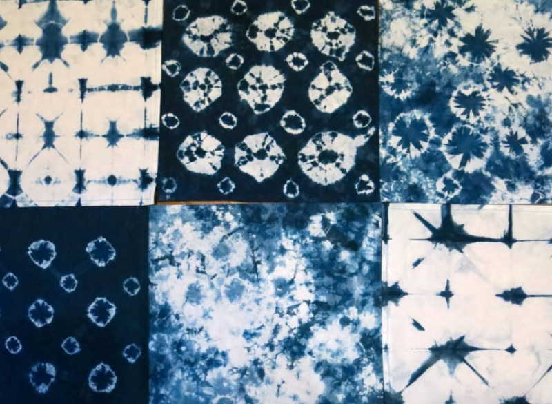 indigo dyed cloth