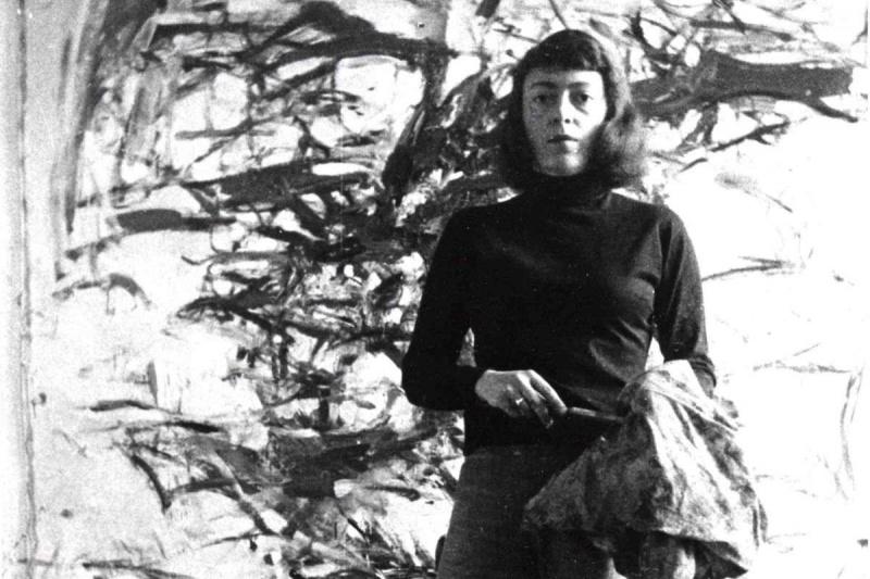 Joan Mitchell Portrait Of An Abstract Painter Film Still