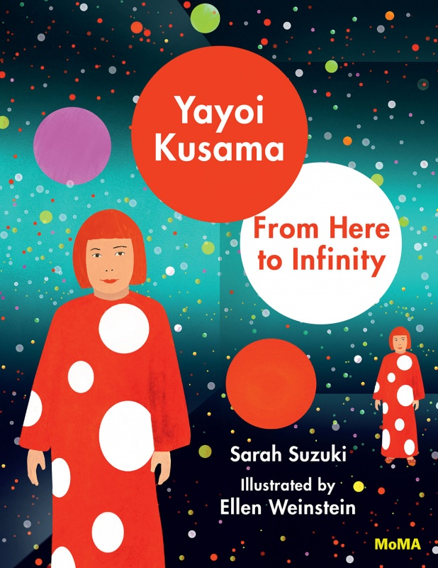 Book cover for Yayoi Kusama: From Here to Infinity