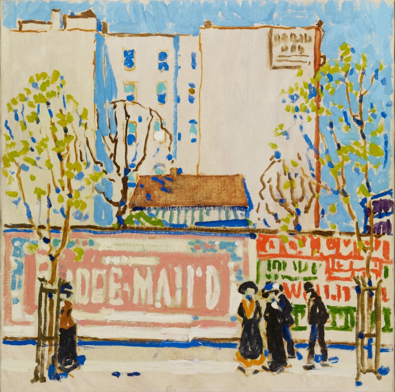 David Brown Milne, Pink Billboard