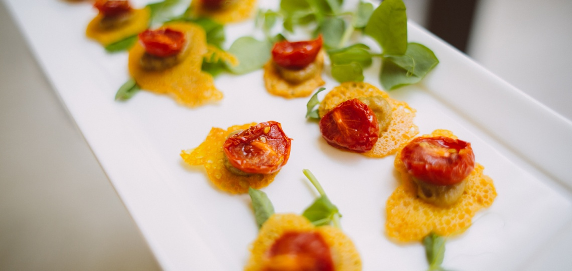 tomatoes and parmesan appetizers