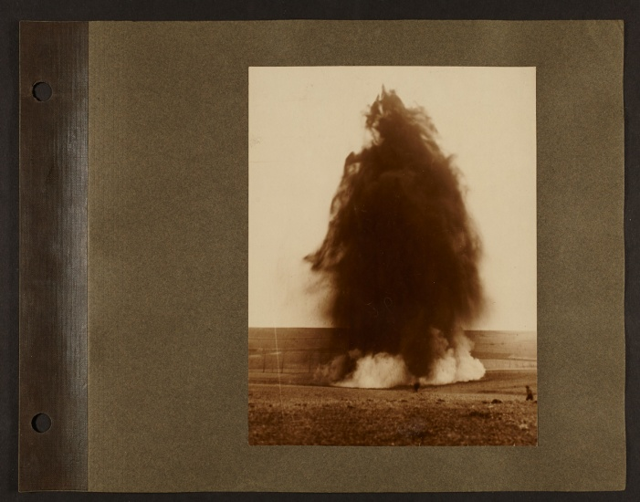 an explosion from wwi