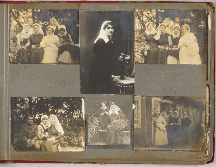 photos of nurses during wwi