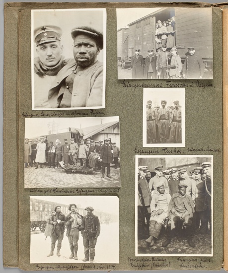 photos from the medic's album, wwi