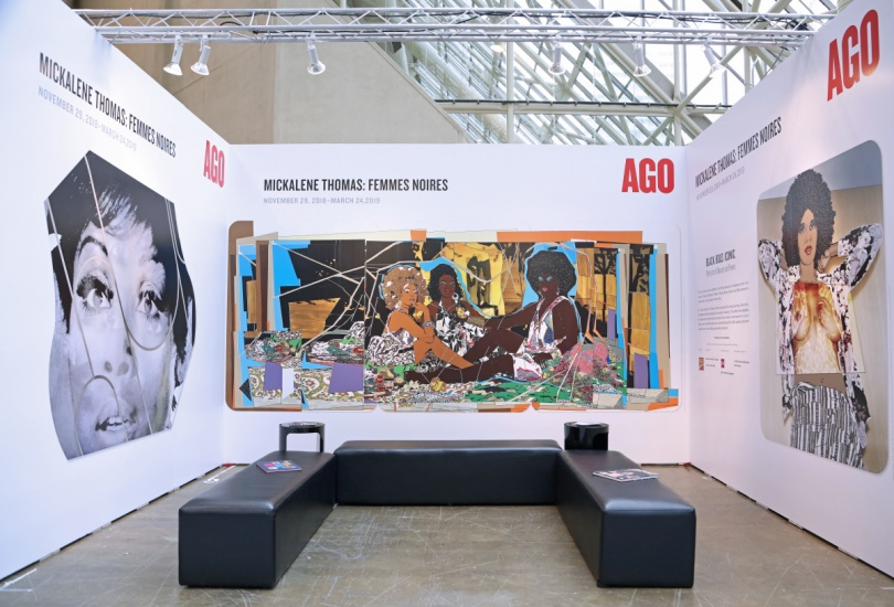 the AGO booth at art toronto 2018