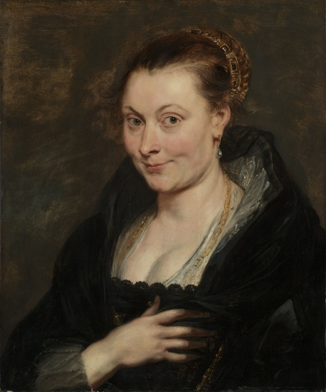 Peter Paul Rubens, Portrait of Isabella Brant