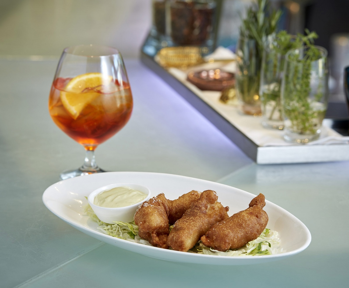 Drinks & app- Chicken